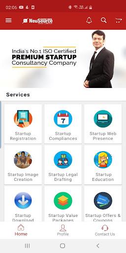 neusource startup minds india limited screenshot 1