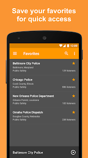 Scanner Radio Pro - Fire and Police Scanner Screenshot