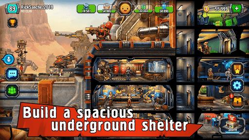 Shelter War-survival games in the Last City bunker screenshots 1