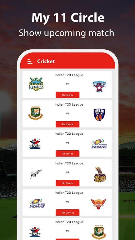 My 11 Circle - My 11 Cricket Team Prediction Tips poster 1