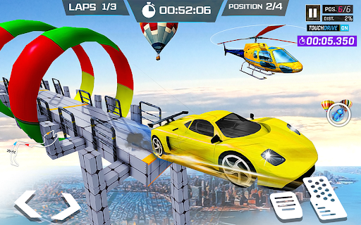 Mega Ramps Car Simulator – Lite Car Driving Games 1.1 screenshots 2