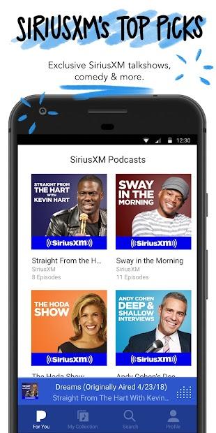 Pandora - Streaming Music, Radio & Podcasts screenshot 5