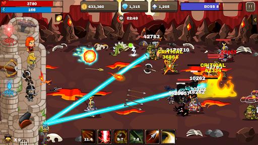 Final Castle Defence : Idle RPG apkslow screenshots 3