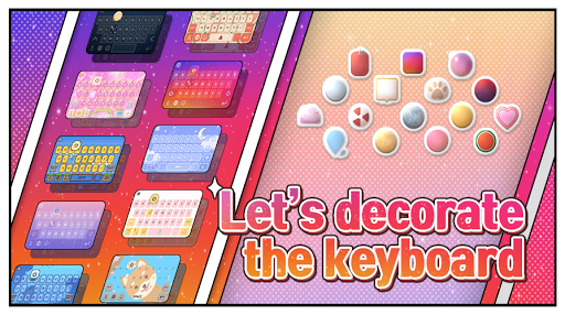 Deco Keyboard - Phone Deco, wallpapers, theme  screenshots 1