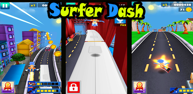 Endless escaping game Surfer Dash APK 3