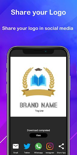 Logo maker 2021 3D logo designer, Logo Creator app 1.23 Screenshots 6