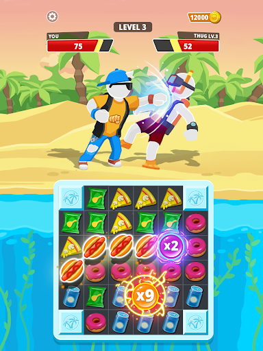 Match Hit - Puzzle Fighter  screenshots 13