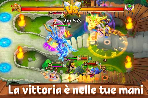 Castle Clash: Gilda Reale Apkfinish screenshots 13
