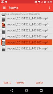 RecMe Screen Recorder Pro v2.6.0 MOD APK 2