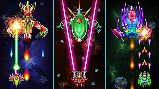 Galaxy Attack: Alien Shooter MOD APK 33.6 (God Mode) 8