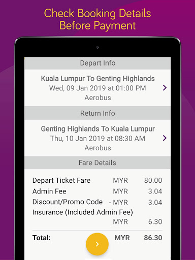 Easybook - Bus, Train, Ferry, Flight & Car Rental  Screenshots 9