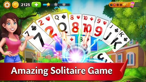 Solitaire Garden - TriPeaks Story 1.9.3 screenshots 1