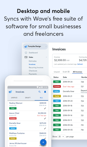Wave Invoicing modavailable screenshots 7