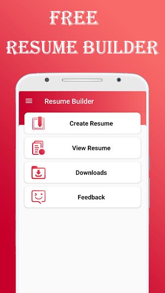 Resume Builder CV maker