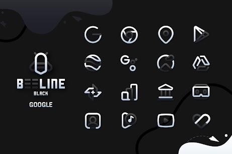 BeeLine Black IconPack Apk Download [PAID] 3