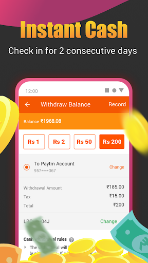 Roz Dhan: Earn Wallet cash, Read News & Play Games android2mod screenshots 2