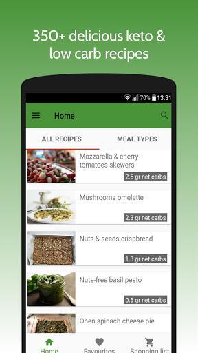 Keto Recipes screenshot 1