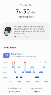 Samsung Health Screenshot
