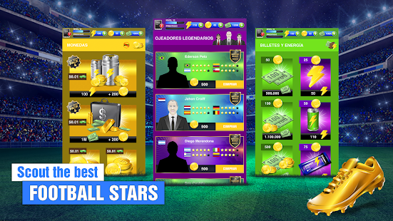 Soccer Agent - Mobile Football Manager 2019 Screenshot