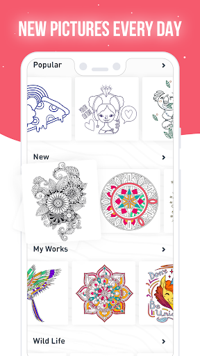 RECOLLECT: Color by Number apkpoly screenshots 3