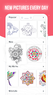 RECOLLECT: Color by Number Screenshot