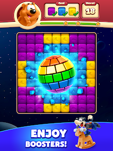 Toon Blast Mod Apk (Unlimited Moves + Unlimited Boosters) 10