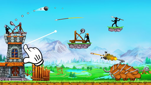 The Catapult 2: Grow Castleu30fbTower Defenseu30fbStickman goodtube screenshots 2