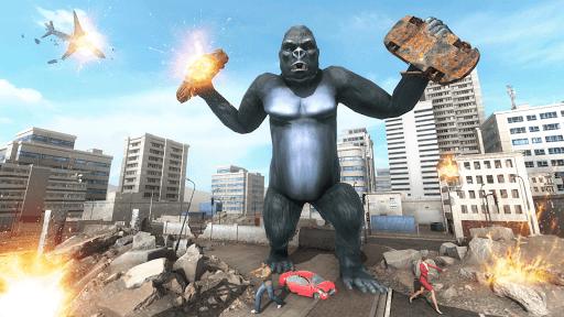 King Kong Games: Monster Gorilla Games 2021 android2mod screenshots 8