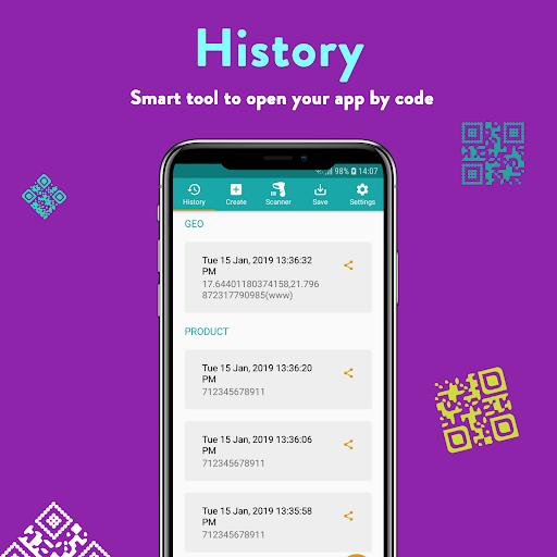 QR Code & Barcode: Scanner, Reader, Creator android2mod screenshots 7