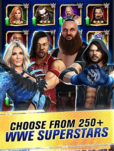 WWE Champions 2021 Mod Apk (High Damage/No Skill CD) 8