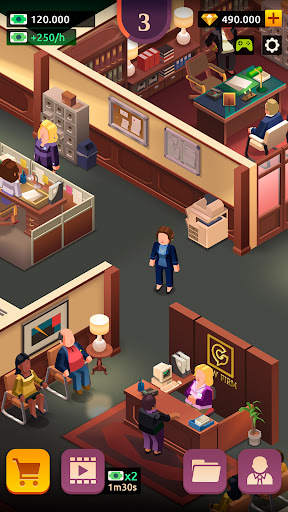 Law Empire Tycoon - Idle Game Justice Simulator  screenshots 5