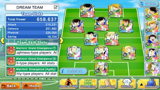 Captain Tsubasa : DREAM TEAM 5.0.0 MOD APK [HIGH ATTACK/GOD MOD] 5