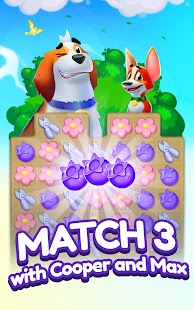 Backyard Bash: New Match 3 Pet Game Screenshot
