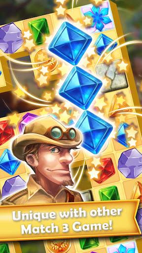 Gem Quest Hero 2 - Jewel Games Quest Match 3 android2mod screenshots 4