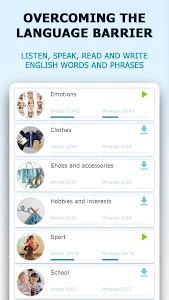 English for Beginners. Learn English for Free 3.7.7