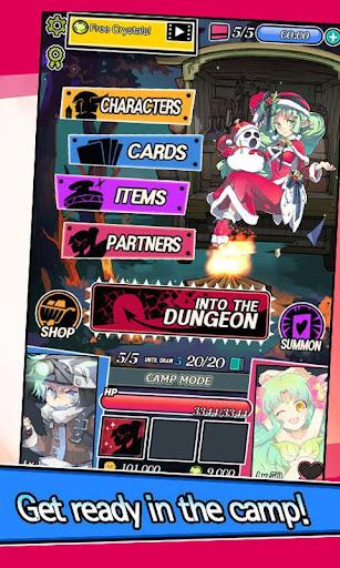 Dungeon & Girls: Card Battle RPG | Build your Deck Apkfinish screenshots 4