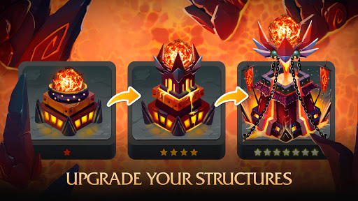 Random Clash - Epic fantasy strategy mobile games apkslow screenshots 16