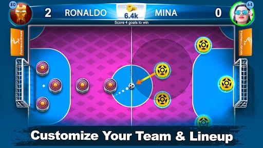 Soccer Stars & Strikes: Free Flick Football Pool 1.4 screenshots 2