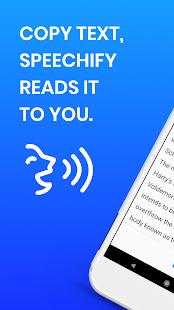 Speechify(Beta) Text To Speech PDF Reader Dyslexia