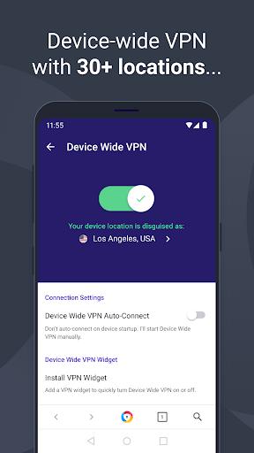 AVG Browser: Fast Browser + VPN & Ad Block 4.0.52 Screenshots 2