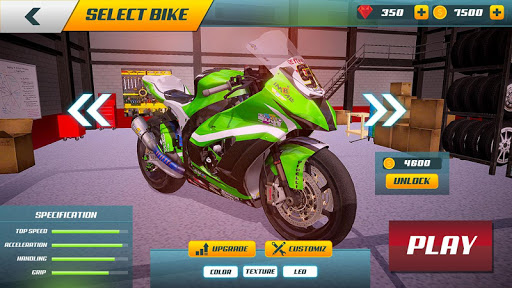 City Bike Driving Simulator-Real Motorcycle Driver screenshots 5