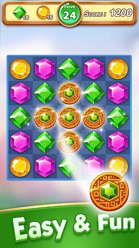 Jewel & Gem Blast - Match 3 Puzzle Game  screenshots 5
