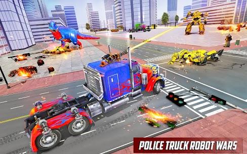 Police Truck Robot Game – Transforming Robot Games 10