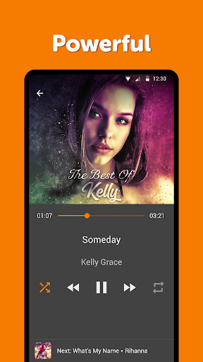 Simple Music Player: MP3 player, no ads, widget screenshots 2