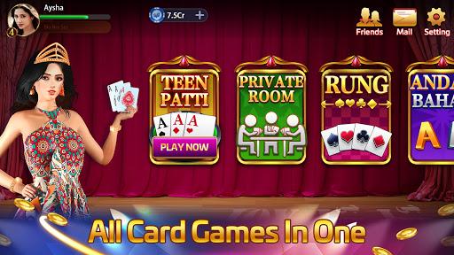 Taash Gold - Teen Patti Rung 3 Patti Poker Game  screenshots 1