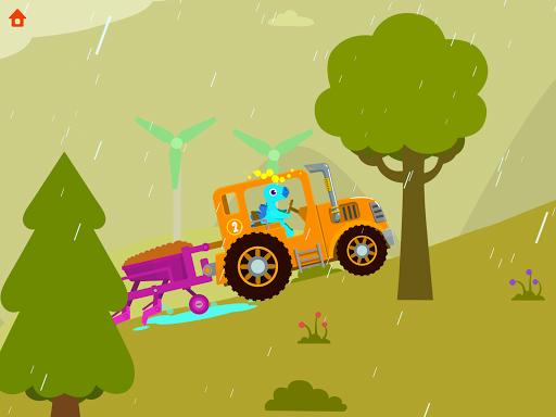 Dinosaur Farm - Tractor simulator games for kids screenshots 9