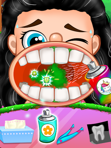 Unicorn Pet Dentist Dental Care Teeth Games 0.7 Screenshots 2