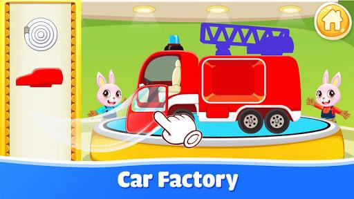 Cars for kids - Car sounds - Car builder & factory  screenshots 1