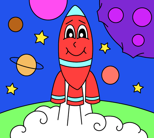 Coloring pages for children : transport 1.1.9 screenshots 7