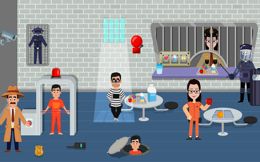 Pretend Play My Police Officer: Stop Prison Escape 1.0.3 screenshots 10